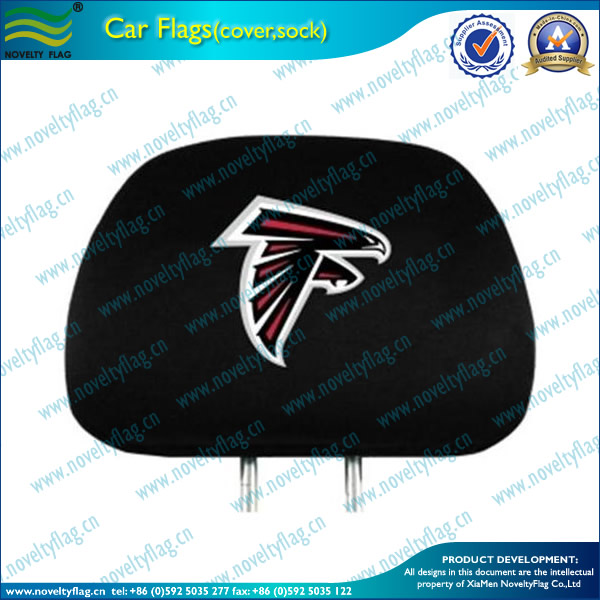 car seat head cover,custom car headrest cover