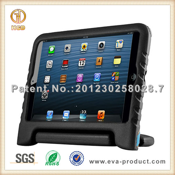 Popular among children handle stand shockproof tablet case for ipad mini