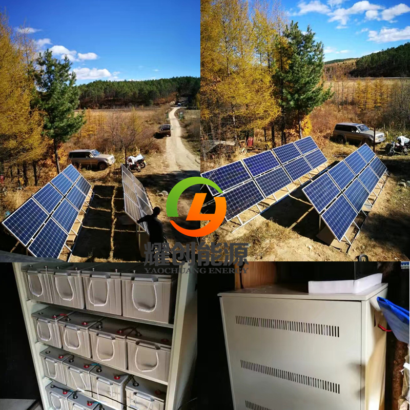 Residential Off-Grid 2KW 2000watts  Home Solar System 2KW Solar Power System2000w solar system home power kit