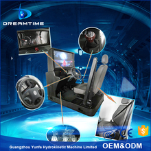 4d driving car driving simulator with interactive games