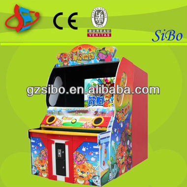 GM6219 amusement park coin operated lottery ticket machine Happy ball in guangzhou