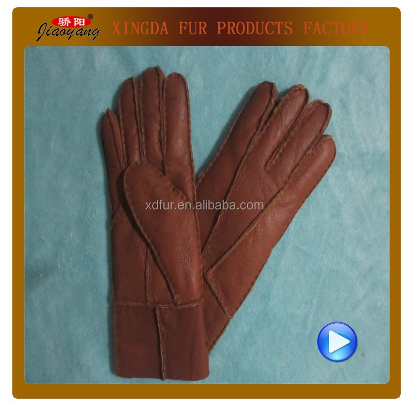Fashionable ladies Sheepskin Gloves