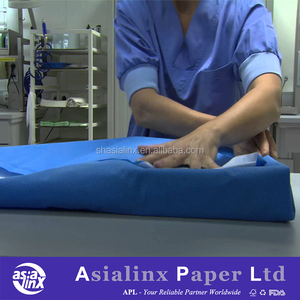Blue SMS/SMMS Surgical Sterilization Non Woven Fabric Wrap Cloth