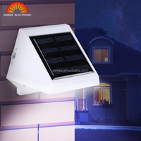 Xinree Outdoor SL-20A Triangle Light Waterproof IP65 Garden LED Wall mounted Solar Decorative light