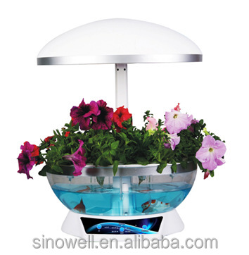 The easy-to-use Intelligent Garden/Water Garden Self Cleaning Fish Tank