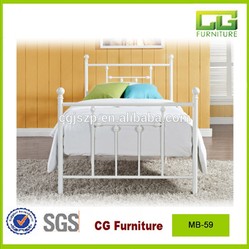Cheap adult metal canopy bed for hot sale