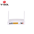 GPON ONT 4GE+2POTS+WIFI ONU wireless network router