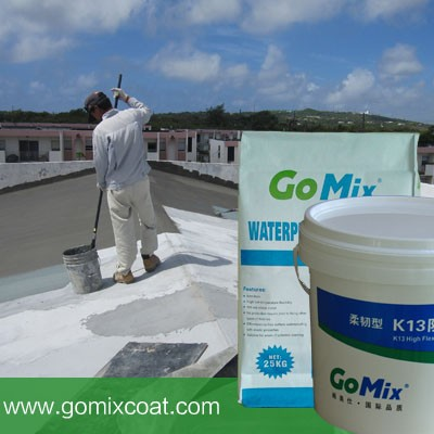 K13 waterproofing materials for concrete roof