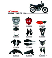 NUEVA TITAN CG150 motorcycle parts/China motorcycle spare parts/South America motorcycle parts