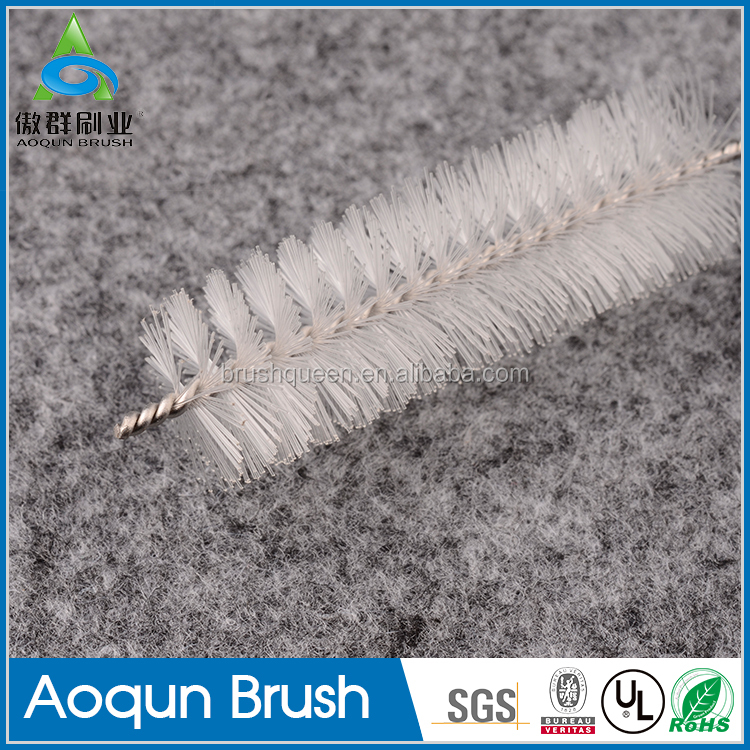 Experimental apparatus cleaning brush