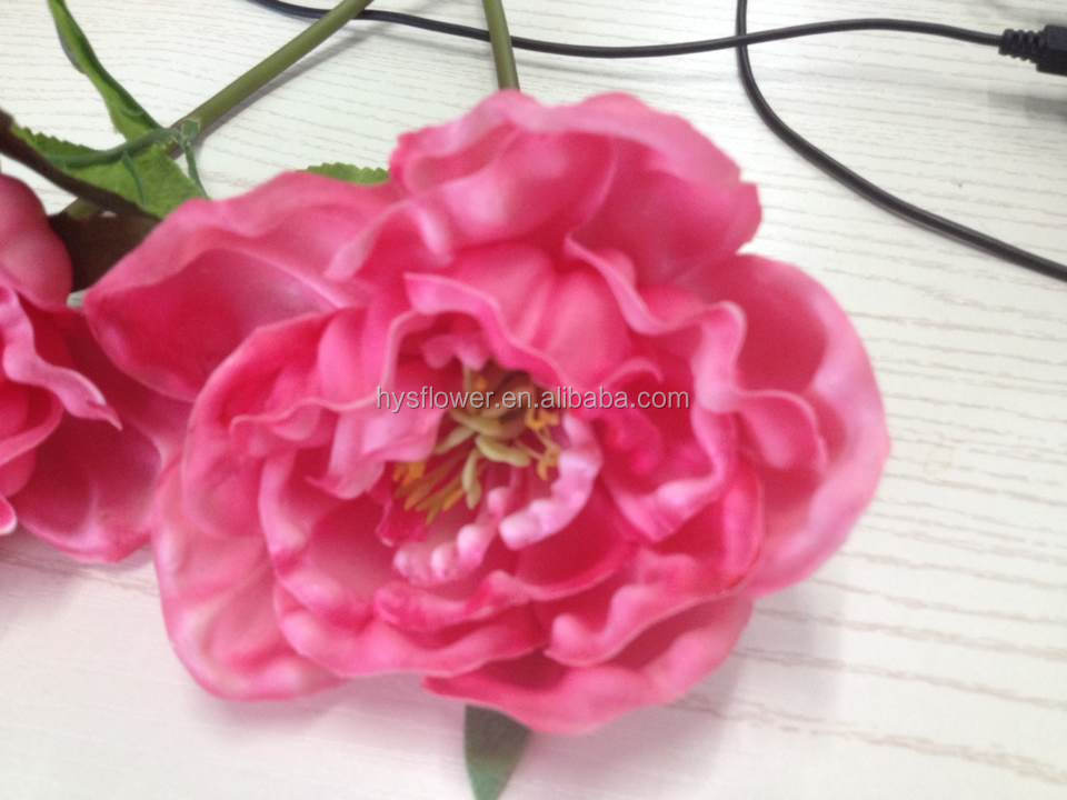 Pink pu peony wholesale peony flower for wedding bouquet