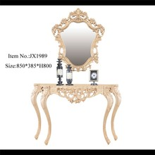 JX1989 White Mirror Dressing Table Dresser Table Makeup Table Wholesale Price