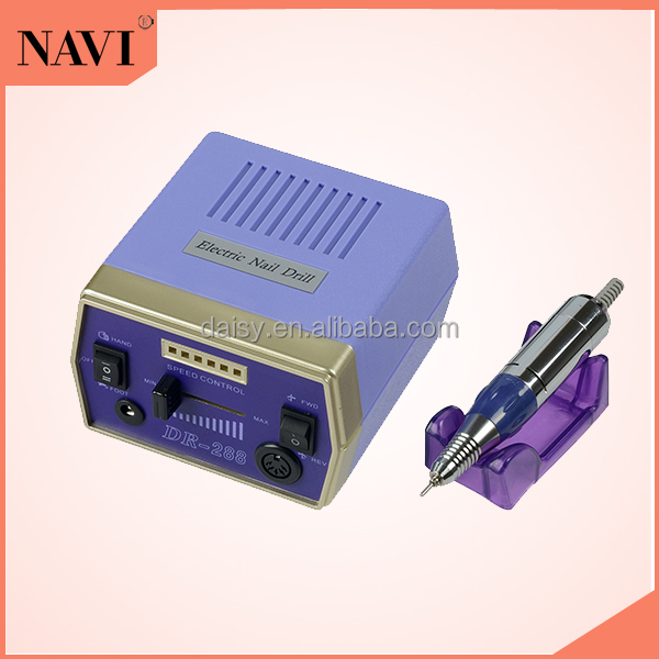 DR288 Electric Nail Manicure Polishing Machine Drill Machine with Foot Pedal