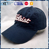 top quality embroidery/ print logo washed baseball cap
