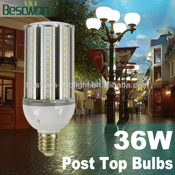 36W Highest Cost Performance Led Street Light,5Years Warranty,Enclosed Fixture Usable,360Degree,UL Listed:Replace 105W CFL Light