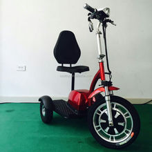 Cooltoy 2018 Hot Selling Zappy Scooter 3 Wheels Adult Electric Scooter With Seat