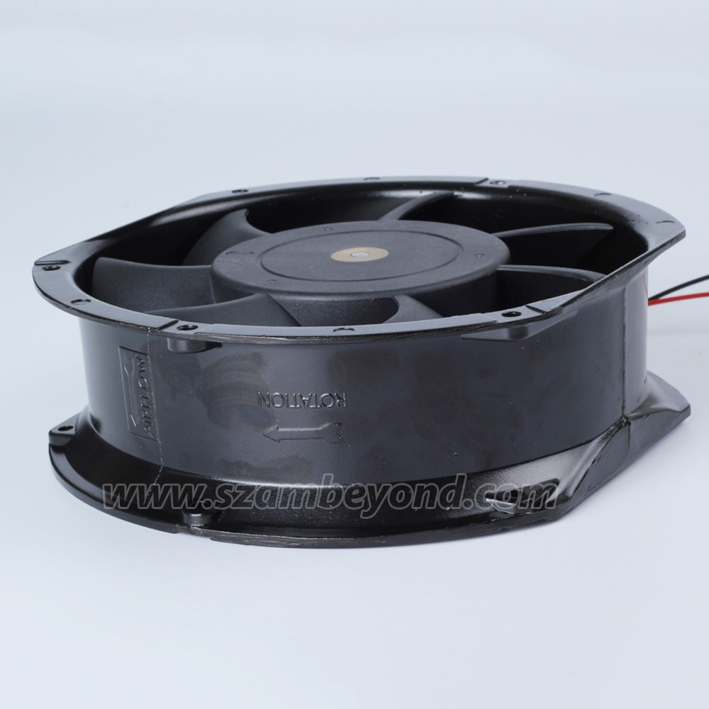 AC Tube Fan Axial 172mm x 150mm x 51mm 6.8 Inch Cooling 17251 AC Ventilation Fan