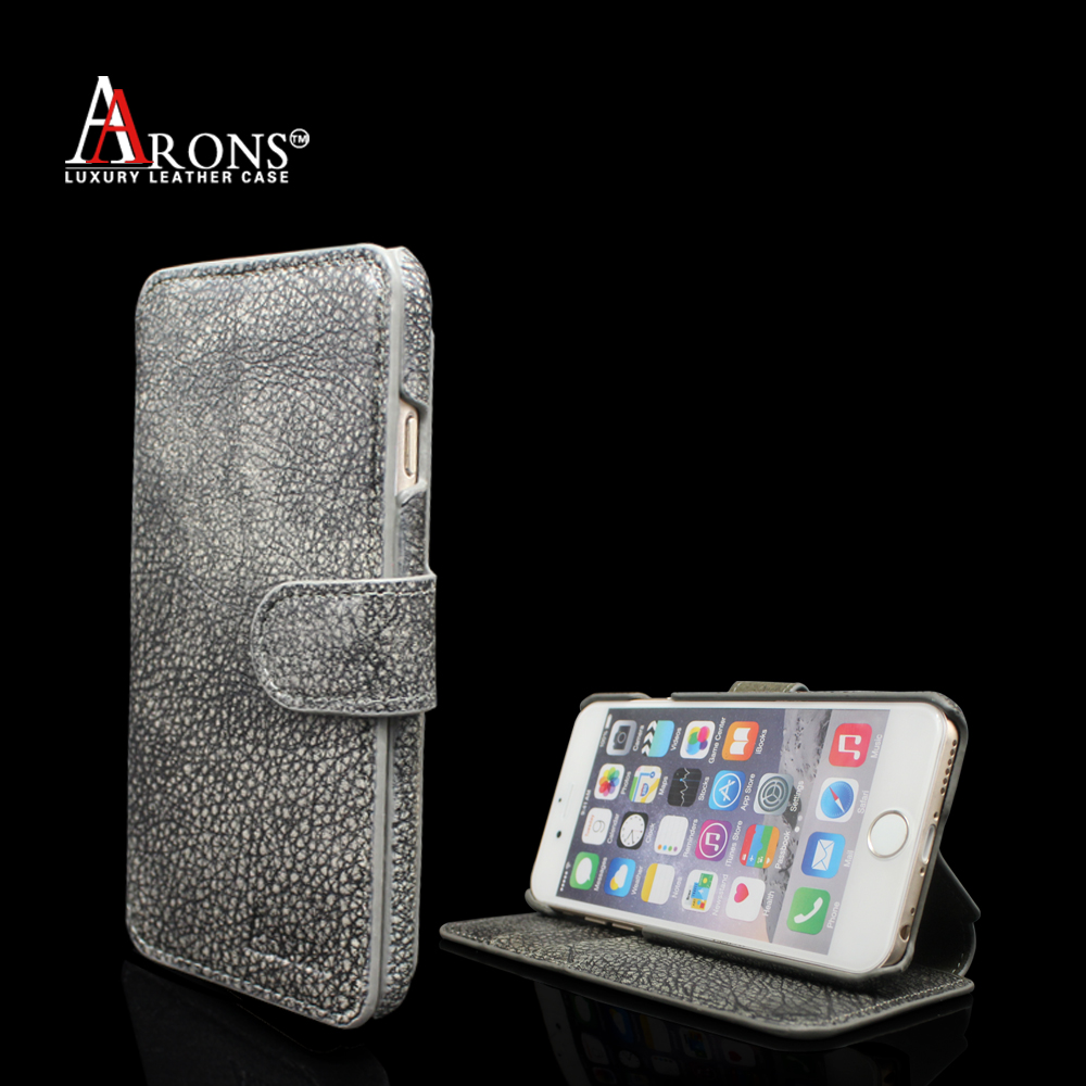 New products flip opening Genuine leather mobile phone case for iphone7
