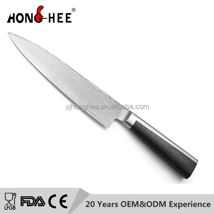 8 Inch Chinese VG-10 Damascus Steel Chef Knife