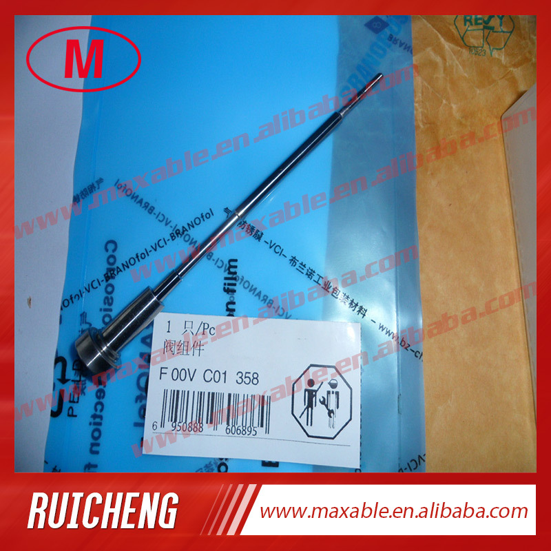 F00VC01358 made in China common rail injector control valve for 0445110291,0445110359,0445110367