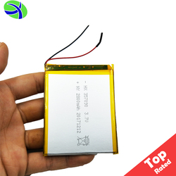 HJL 357090 Lithium Polymer Battery 3.7V 2500mAh, iPad Tablet PC Polymer Lithium Battery