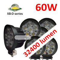 EK LIGHT Spot/Flood beam 10-30VDC offroad 60W led work light