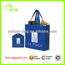 Reusable fashion pp woven shopping tote bag