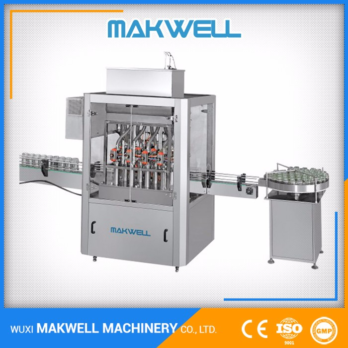 Tested Large Supplier Jam Mayonnaise Food And Beverage Filling Machine