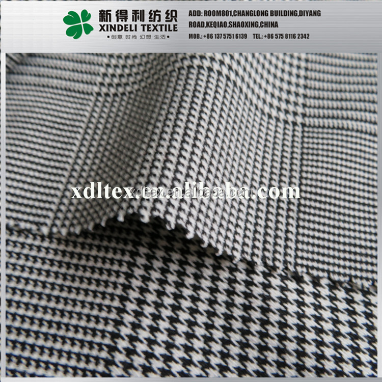 Wholesale polyester rayon spandex italian suit trouser fabric