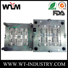 2017 custom plastic injection mold for textured surface GF/CF semi-transparent protective case product molding