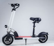 Adult Fashion Double Disc Braking Two Wheel 350W 10Inch Foldable Electric Scooter Mobility E-bike Vehicle