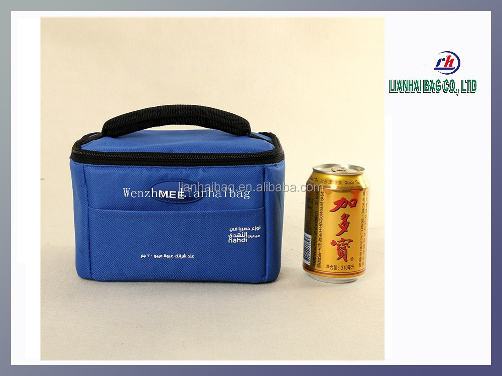 Insulated 600d oxford fabric frozn cooler bag for storaging bear and wine