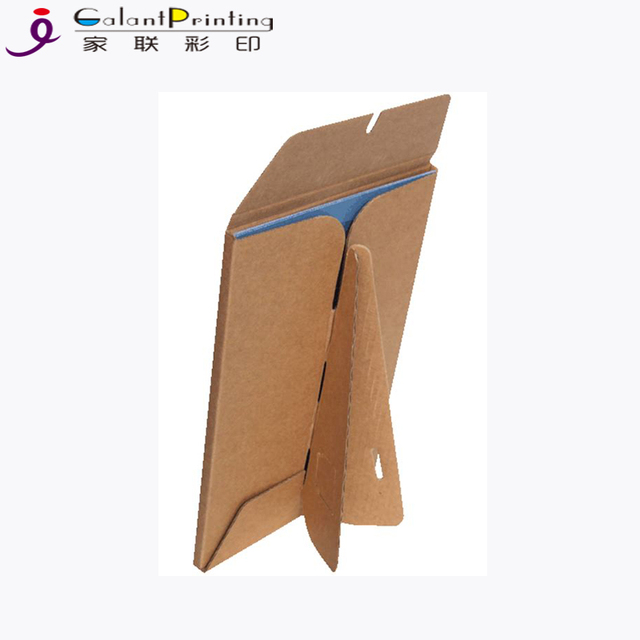 Customized cheap cardboard kraft paper magnetic photo frames for promotional gift