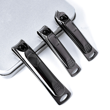 New Arrival Titanium Nail Clippers Set Sharp Sturdy trimmer set omuda nail clipper for Men and Women