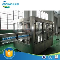 Commercial Soda Water Filling Machine 8000bph-36000bph