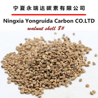 Oil Removal Filtration Material Walnut Shell Filter Media