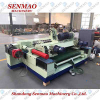 Heavy duty /core veneer peeling machine/4 feet Spindle less veneer peeling machine/ Rotary peeling lathe