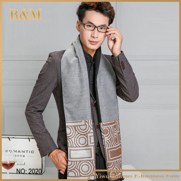 Factory Wholesale In Stock Multicolor Fashionable Knitted Scarf