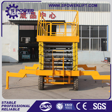 Easy installation 320kg skyjack scissor lift with competitive price