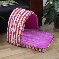 Most popular nice grade washable dog house cat bed cave dog house