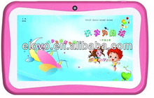 Children prefered computer, allwinner A 13 single core tablet PC best family education