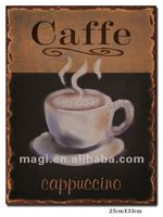Vintage Advertising Tin Metal Sign For Coffee Shop&Home