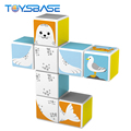2018 New Product Kids Polar Animal Toy 8PCS Magnetic Block Sets