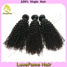 2015 Grade 6A virgin hair 100% human hair deep curly peruvian/ malaysian/ indian/ brazilian/ mongolian hair weave
