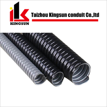 Galvanised plastic coated flexible electrical wiring conduit pipe