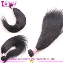 Factory Price Large Stock Unprocessed Coarse Yaki Hair Extension Cheap Indian Yaki Hair Braid Styles