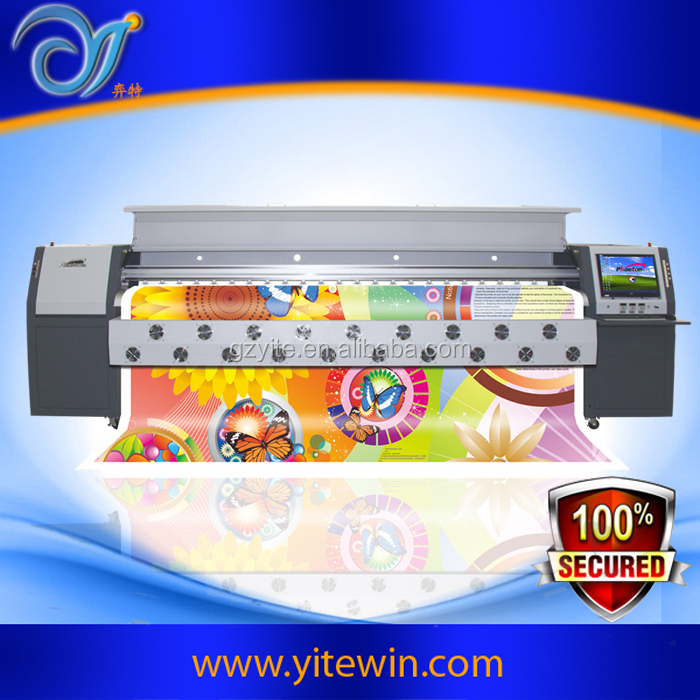 Competitive price flatbed large format tarpaulin printer