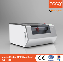 China Bodor 3 years warranty Factory directly supply Mini/Desktop CO2 Laser Engraver/Cutter