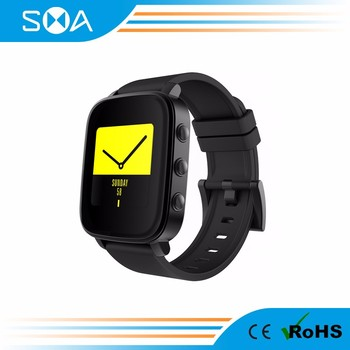 SMA Q2 bluetooth smart watch with pedometer heart rate monitor compatible with iOS&Android phone watch