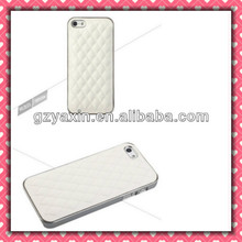 Best quality popular sheep skin leather case for iphone 5,for iphone 5 plain white cases